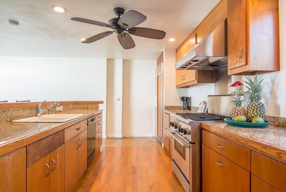 kitchen in suite room